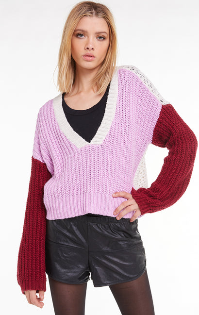 Color Me Beverly Sweater, Sweater, Crepe, Wildfox