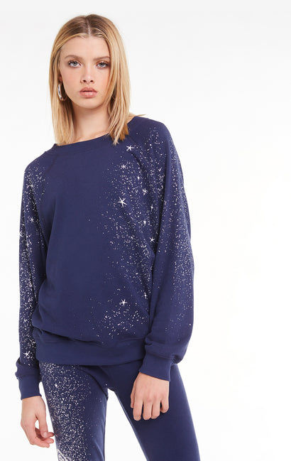 Cosmic Dust Sommers Sweatshirt, Sweatshirt, Oxford, Wildfox