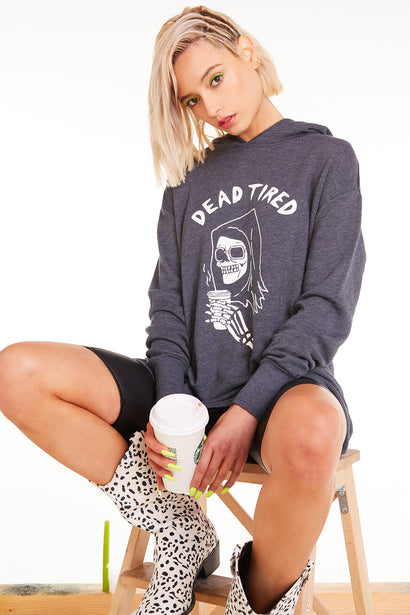Dead Tired Rebel Hoodie, Hoodie, Sweatshirt, Sweater, Night, Wildfox