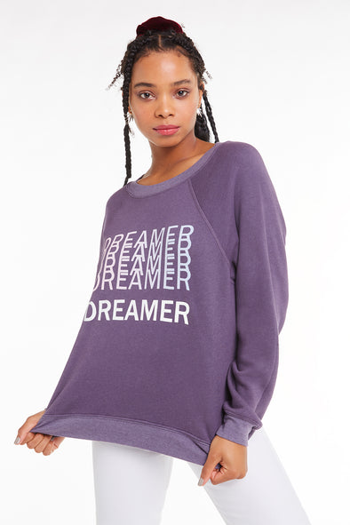50f8a986d07 Dreamer Sommers Sweater, Sweater, Sweatshirt, Plum, Wildfox
