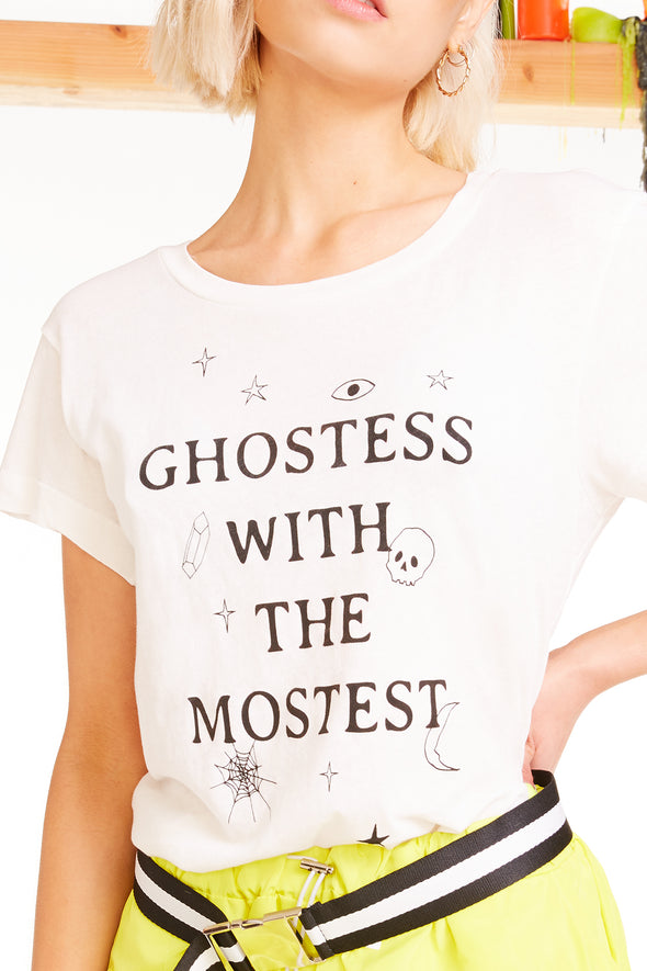 Ghostess NO9 Tee, Tee, Tshirt, Vanilla, Wildfox