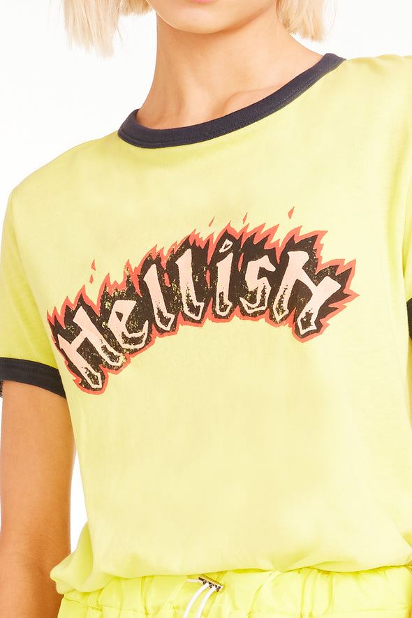 Hellish Johnny Ringer Tee, Tee, Tshirt, Electric Night, Wildfox