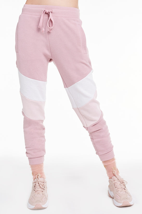 Jane Jogger, Joggers, Sweats, Pants, Bottoms, Crush Vanilla Rose, Wildfox