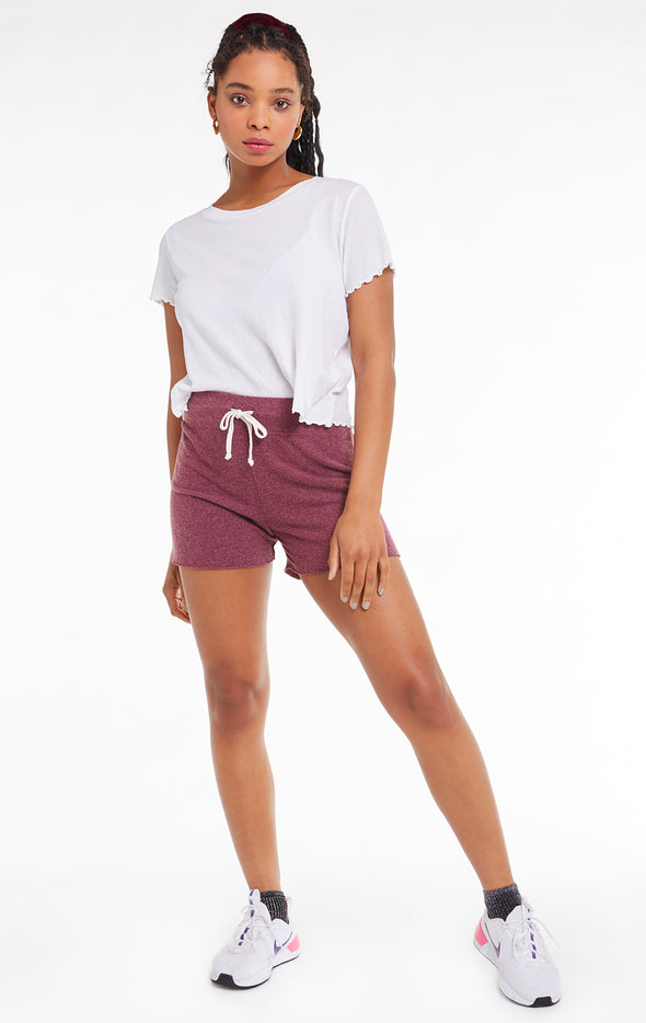 Kassidy Shorts, Shorts, Bottoms, Sangria, Wildfox