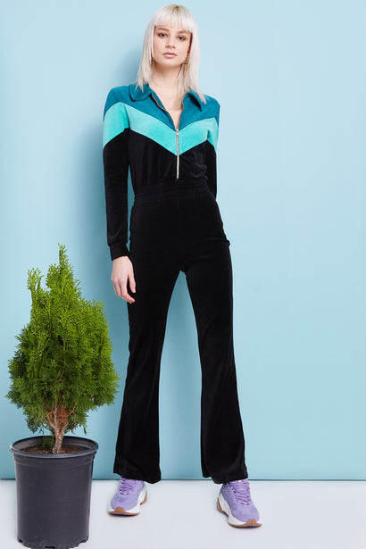 Kenna Jumpsuit  |  Night Orion Tide