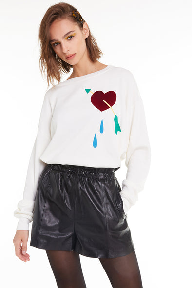 Love Hurts Roadtrip Sweatshirt, Sweatshirt, Antique, Wildfox