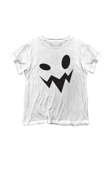Manchester Tee - Boo | Clean White