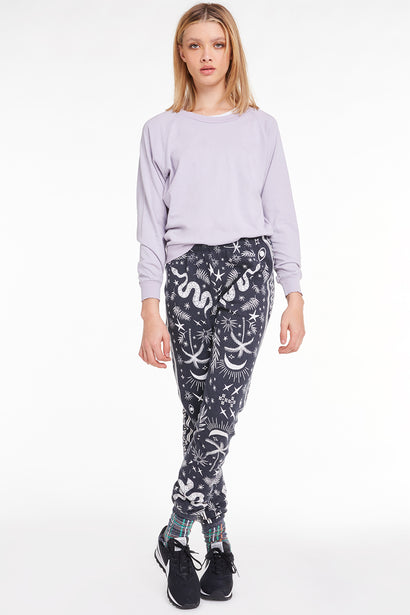 Mystic Bandana Knox Pants, Pants, Bottoms, Sweats, Night, Wildfox