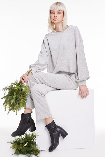 Olivia Sweatshirt, Sweatshirt, Sweater, Heather, Wildfox