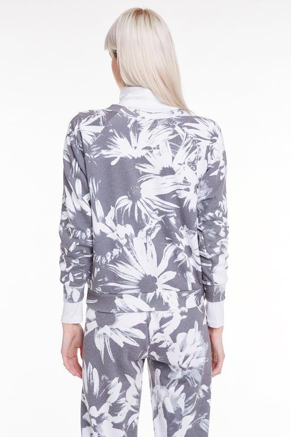 Optic Daisies Fiona Crew, Crew neck, Sweatshirt, Sweater, Multi, Wildfox