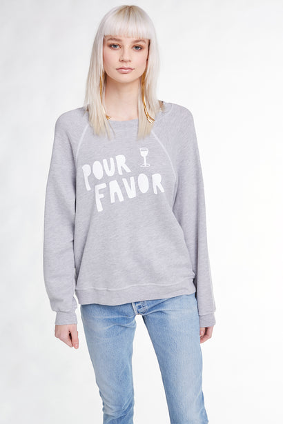 Pour Favor Sommers Sweatshirt, Sweatshirt, Sweater, Heather, Wildfox