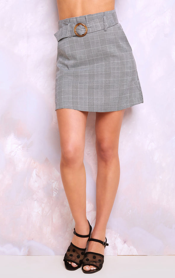 Madeline Skirt, Plaid Skirt, Skirt, Plaid, Multi, Wildfox