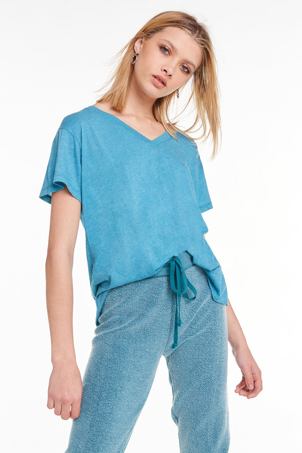 Romeo V-Neck Tee, Tee, Top, T shirt, Tide, Wildfox