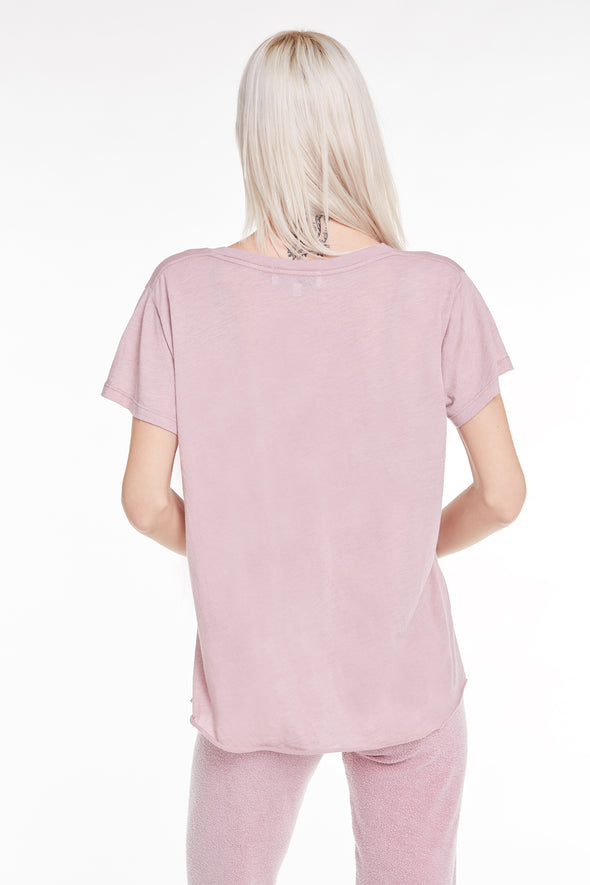 Romeo V-Neck Tee, Tee, Top, T shirt, Crush, Wildfox