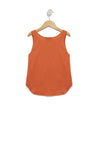 Kids Sunnies Hiker Tank | Flame