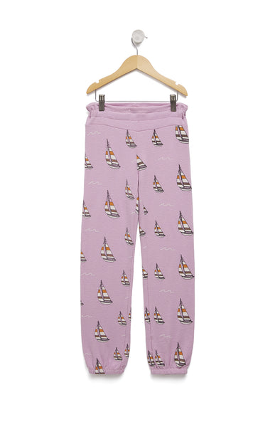Kids Sail On Malibu Sweats | Orchid