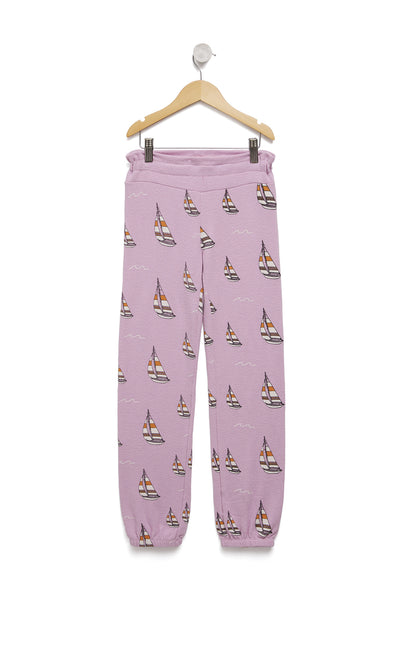 Sail On Malibu Sweats | Orchid