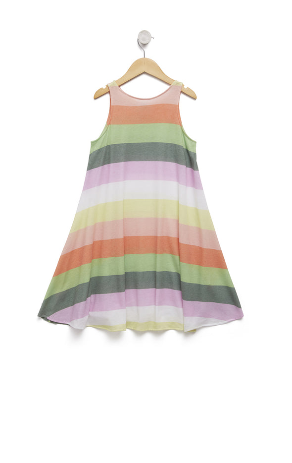 Sorbet Stripes Cassidy Tank Dress | Multi Colored