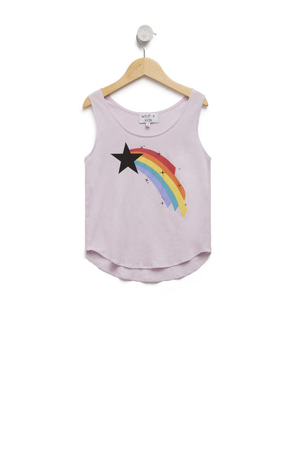 Kids Shooting Star Hiker Tank | Primrose