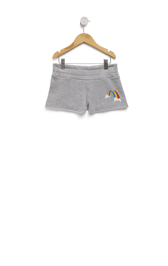 Kids Good Day Cutie Shorts | Heather