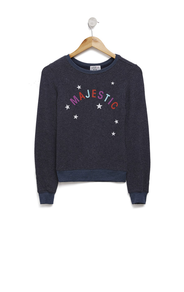 Kids Majestic Baggy Beach Jumper | Oxford