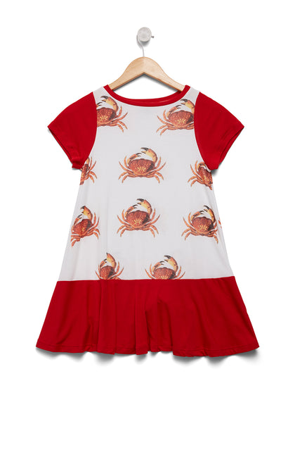 Kids Crabby Lil 60's Dress | India Poly