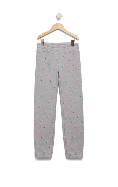 Kids Rose Ditsy Malibu Sweats | Heather