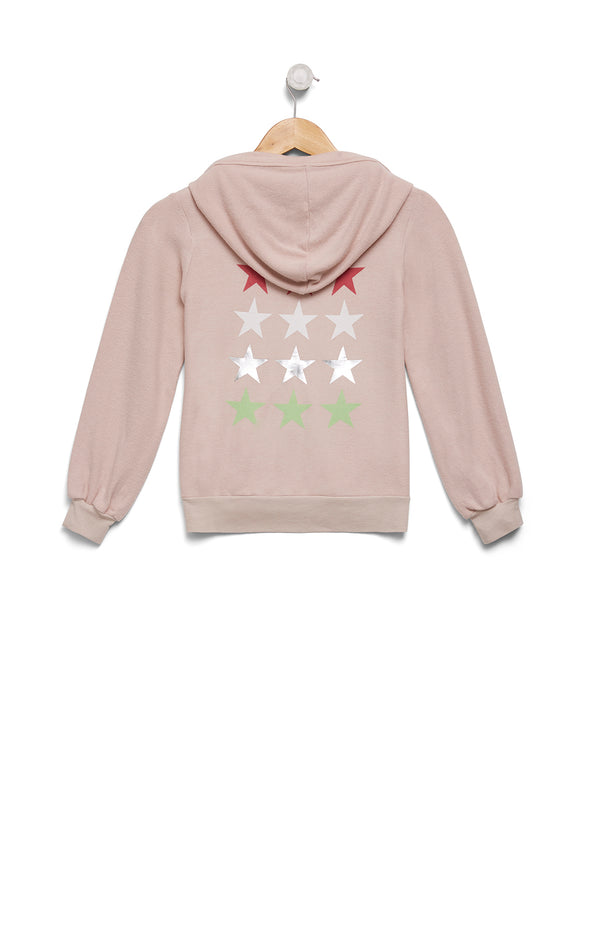 Kids Starlight Malibu Zip Up | Quartz