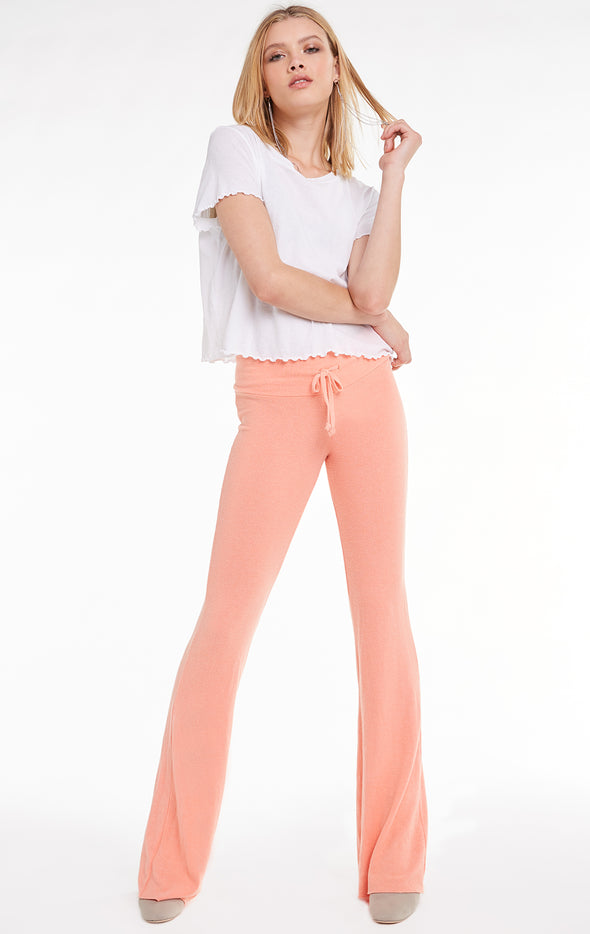 Tennis Club Pant, Pants, Bottoms, Cantaloupe, Wildfox