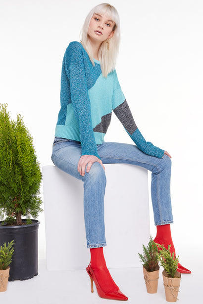 Tidal Wave Sydney Sweater, Sweater, Swetshirt, Tide Orion Night, Wildfox