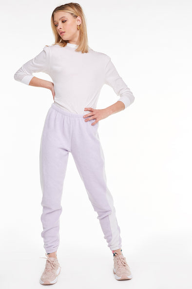 Track Knox Pants, Pants, Bottoms, Sweats, Iris Vanilla, Wildfox