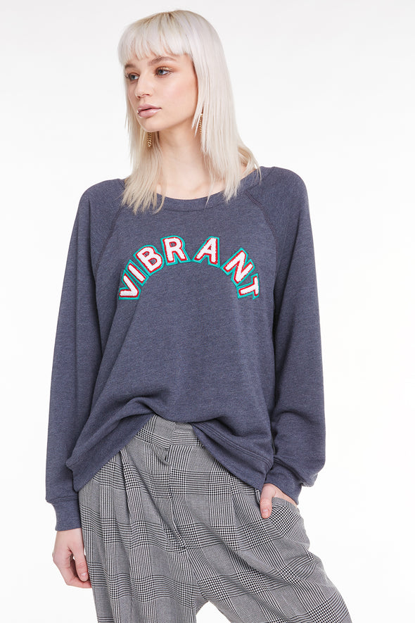 Vibrant Sommers Sweatshirtm Sweatshirt, Sweater, Night, Wildfox