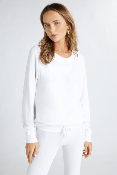 Wildfox BBJ Clean White sweatshirt
