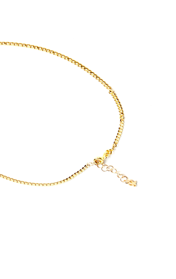 Leenabell 14K Yellow Mini Cuban Link Choker | Yellow Gold