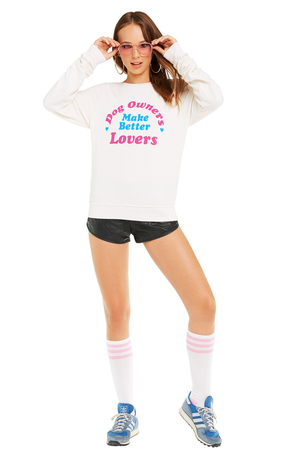 Better Lovers Baggy Beach Jumper | Vintage Lace