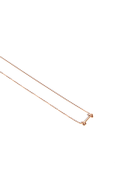 Leenabell 14K Rose Arrow Necklace | RG