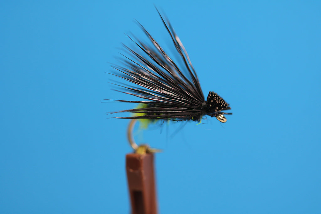 Green Butt Black Caddis