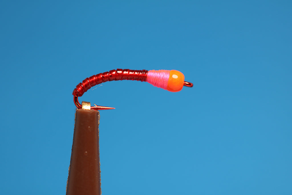 Hot Head Rock Worm Red