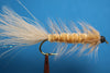Tan Woolly Bugger with Tungsten Bead