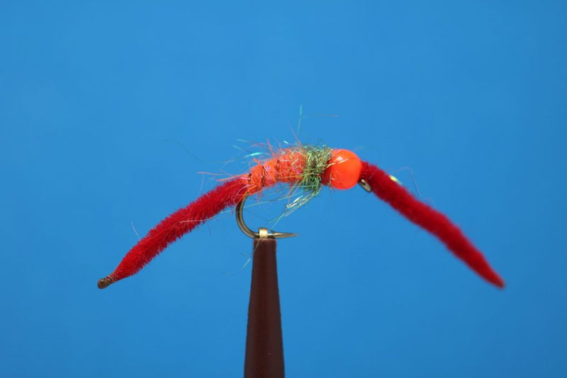 MTF San Juan Worm Orange Bead
