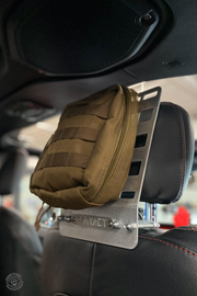 Bartact Universal Adjustable Headrest MOLLE Panels