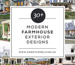 30+ Modern Farmhouse Exterior Designs