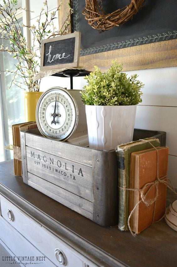 Joanna Gaines Inspired Magnolia Accent Bunch