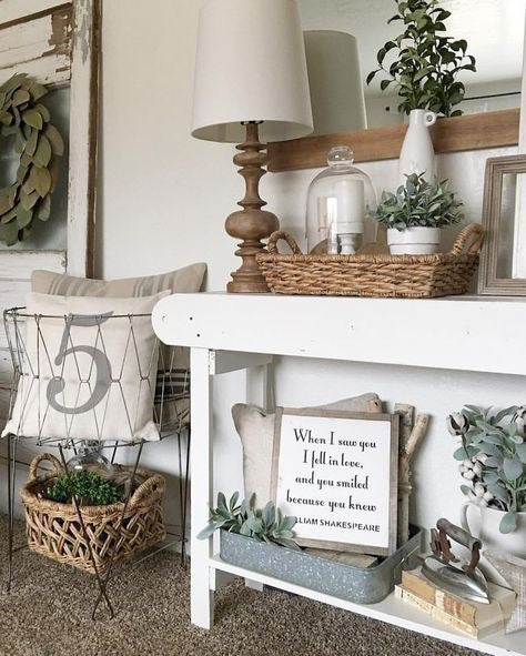 Modern Farmhouse Tabletop Accents