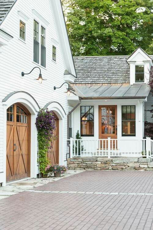 Bring out the inner French Country Exteriors in this Cozy White Home