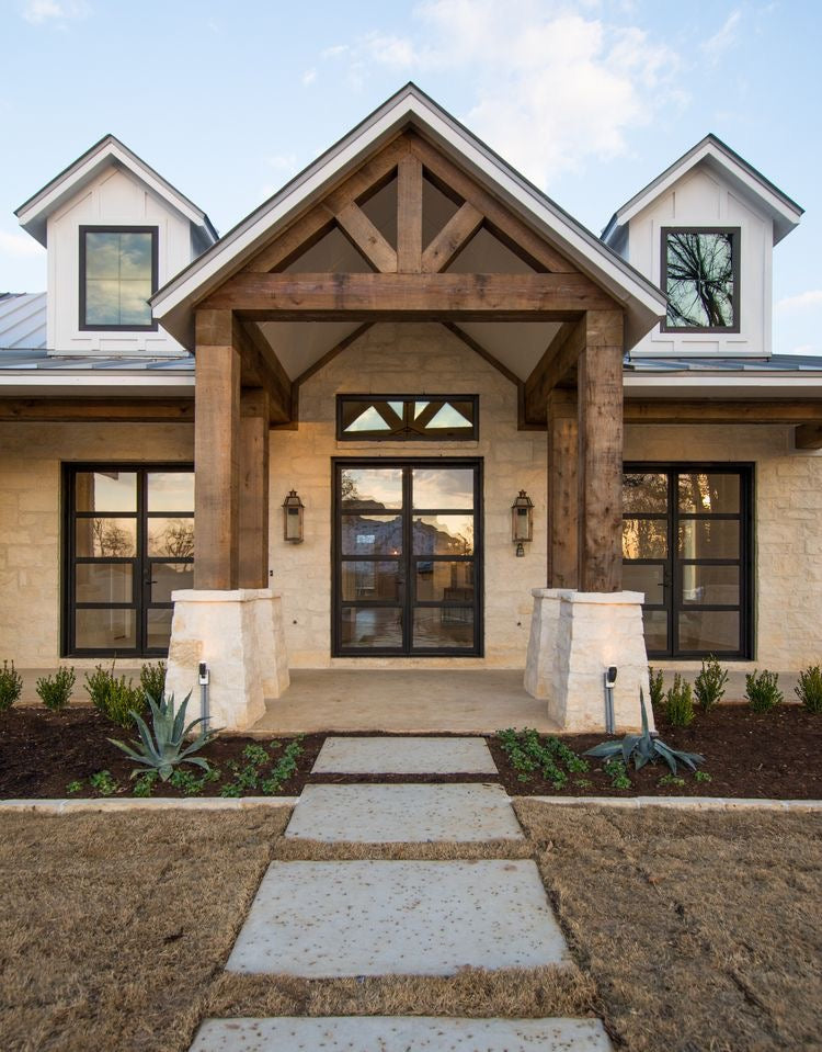 Modern Craftsman Style Curb Appeal