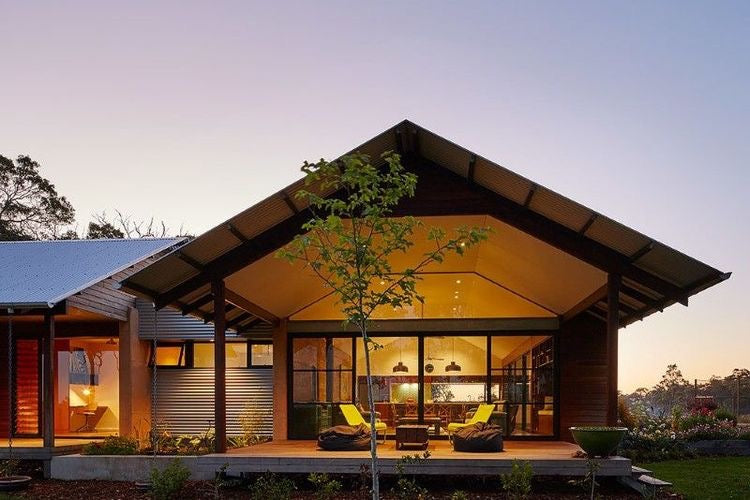 Australian Modern Farmhouse Exterior Down Under