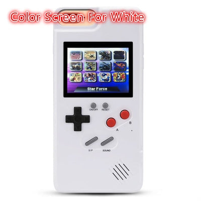 Retro Gaming Case for iPhone with Color Screen - Living MNML