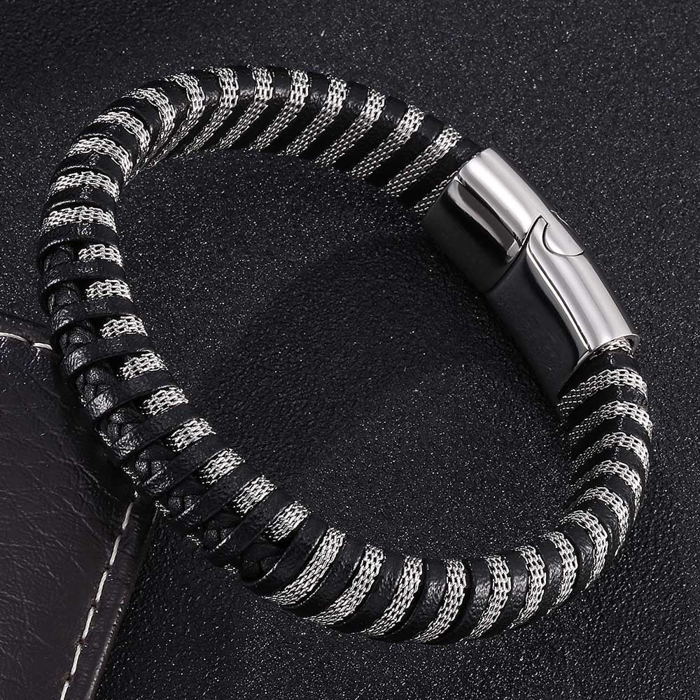 Stainless steel Men's Bracelet - Living MNML