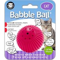 Pet Qwerks Babble Ball Catnip infused for Cat